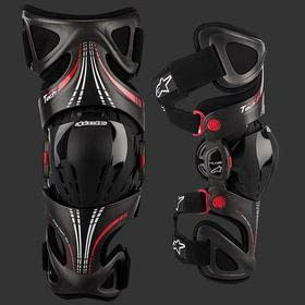 Наколенники ALPINESTARS FLUID TECH CARBON RIGHT