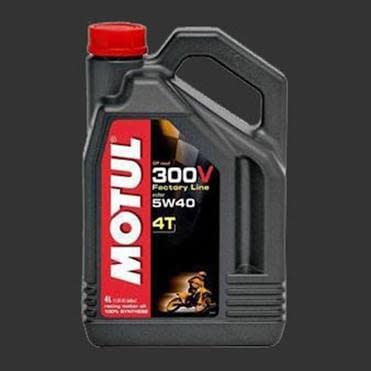 Масло MOTUL 300V 4T Of Road SAE 5W40